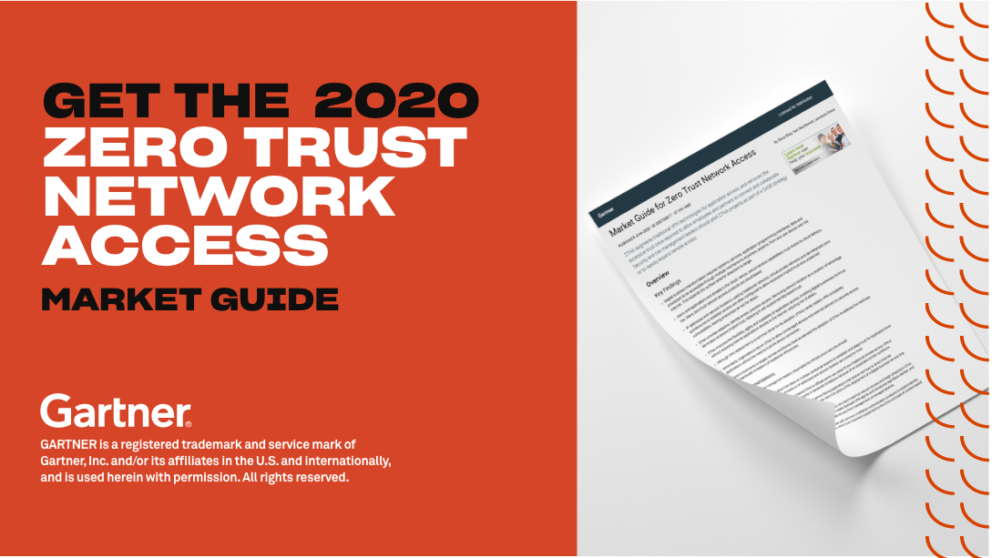 Zero Trust Network Access Market Guide 2x